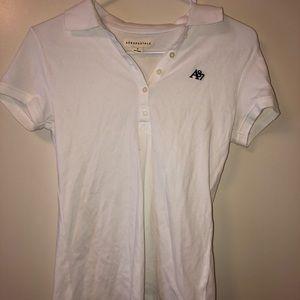 White Shirt with Logo